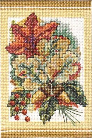 Autumn Bouquet  ~ Cross-Point Designs