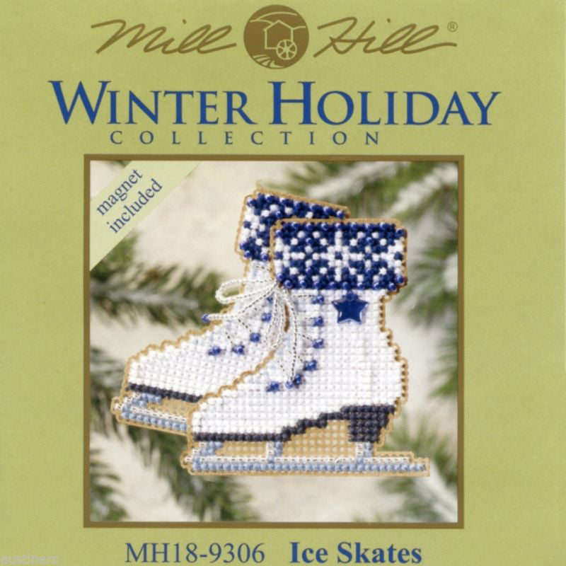 Ice Skates - Mill Hill Kit MH18-9306