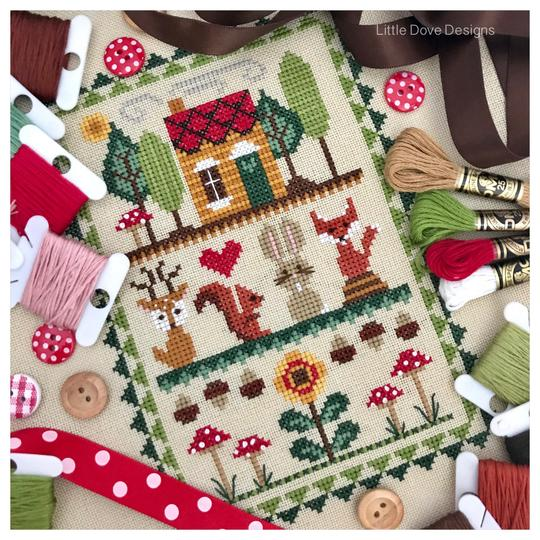Woodland Friends ~ Little Dove Designs