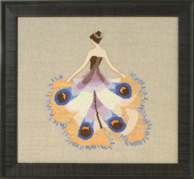 NC258 ~ Miss Moth -  Intriguing Insects ~ Nora Corbett
