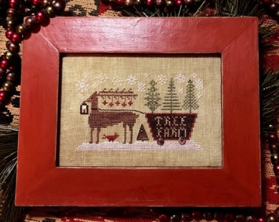 Delivering the Trees - Country Spirits Collection ~ Homespun Elegance