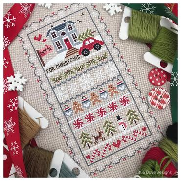 Home For Christmas ~ Little Dove Designs