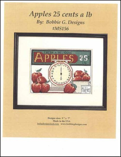 Apples 25 Cents A lb