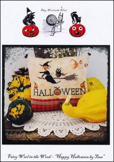 Happy Halloween By Tina ~ Fairy Wool in the Wood