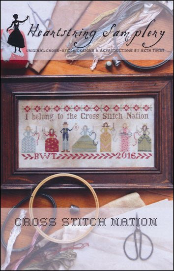 Cross Stitch Nation ~ Heartstring Samplery