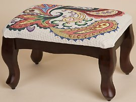 Sudberry House ~ Queen Anne Classic Footstool