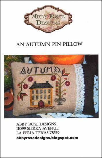 Autumn Pin Pillow ~ Abby Rose Designs