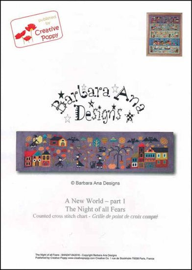 New World: Part 1 The Night Of All Fears ~ Barbara Ana Designs