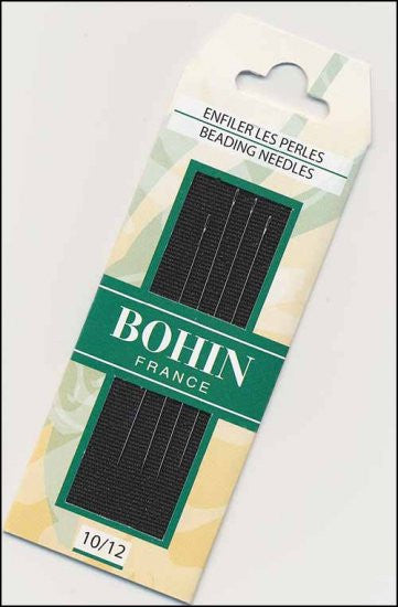 BEADING NEEDLES SIZES 10 AND 12, BOHIN FRANCE