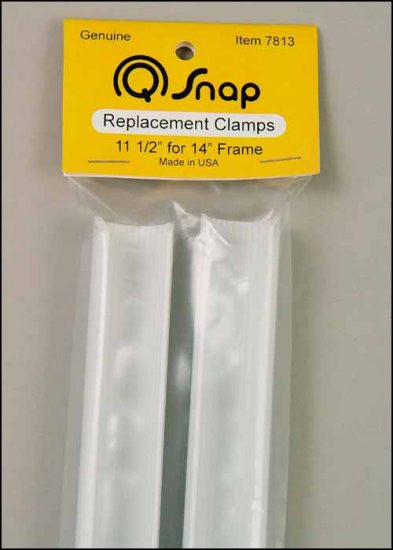 "Q-SNAP. 11 1/2"" CLAMPS PAIR FOR 14"" EXTENSION FRAME"