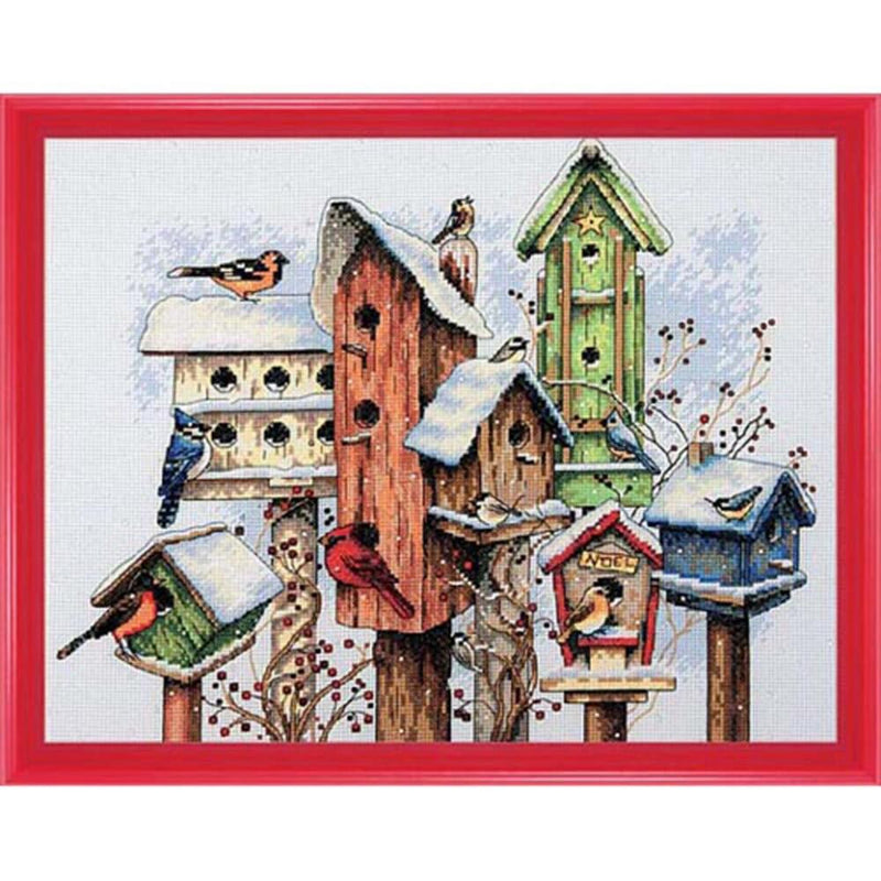 Winter Housing ~ Dimensions Counted Cross-Stitch Kit
