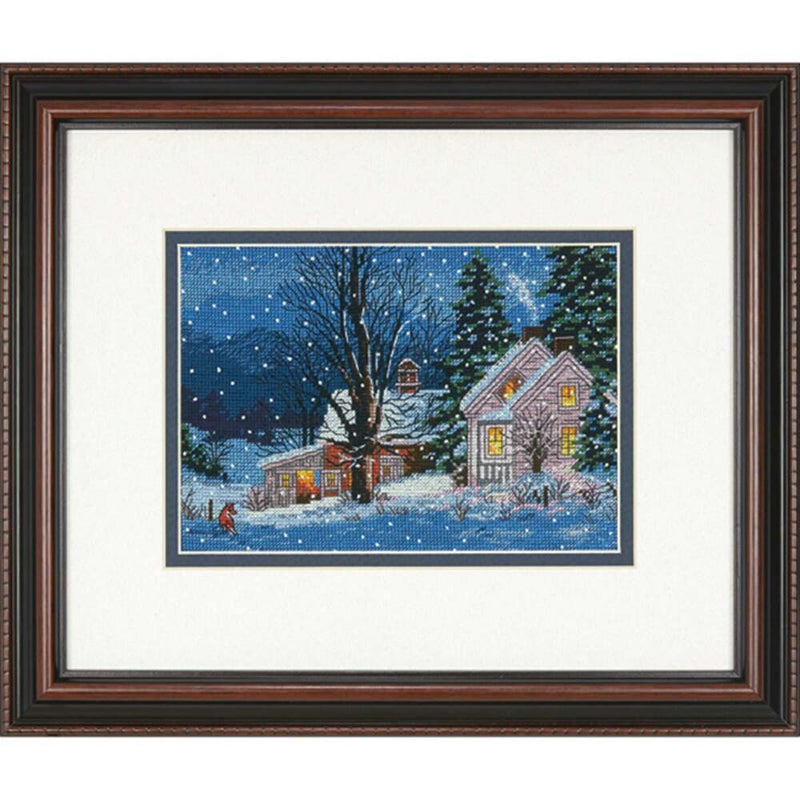 Quiet Night ~ Dimensions Counted Cross-Stitch Kit