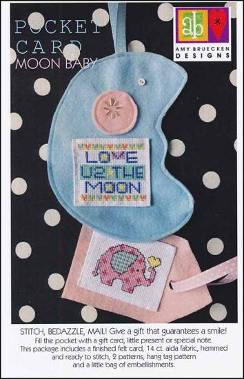 Pocket Card: Moon Baby