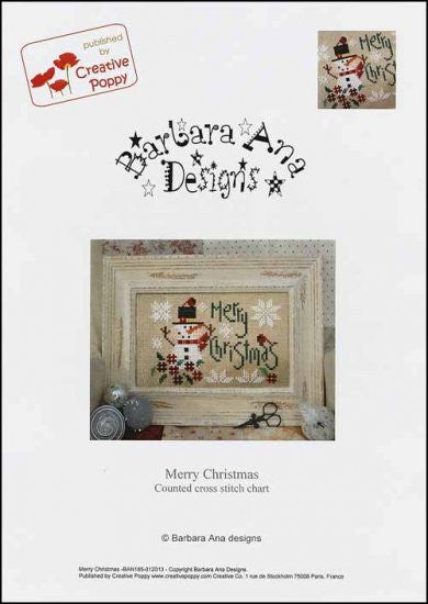 Merry Christmas ~ Barbara Ana Designs