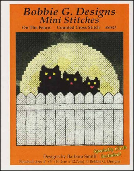 Mini Stitches: On The Fence
