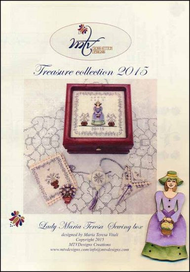 Lady Maria Teresa Sewing Box ~ MTV Designs