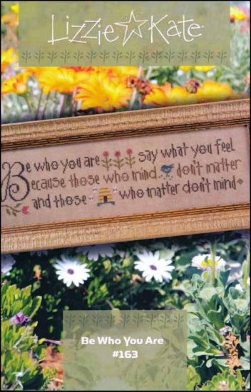 Be Who You Are~ Lizzie Kate