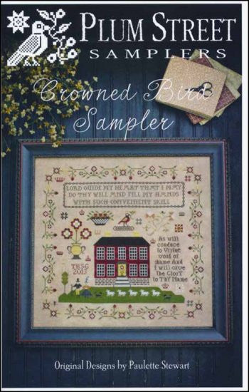 Crowned Bird Sampler ~ Plum Street Samplers