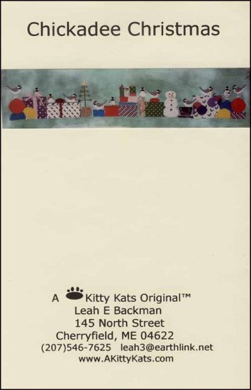 Chickadee Christmas ~ A Kitty Kats Original
