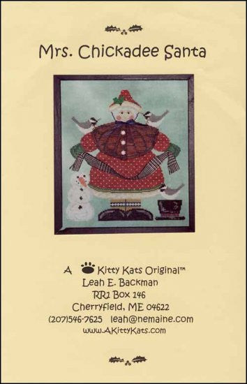 Mrs Chickadee Santa ~ A Kitty Kats Original