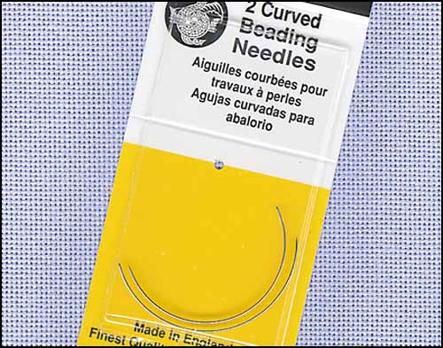 CURVED JJ BEADING. CURVED BEADING NEEDLES SIZE 10