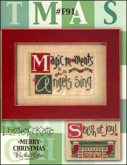 Double Flip: Merry Christmas By The Letter - M A  S ~ Lizzie Kate