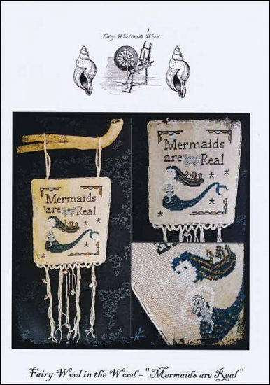 Mermaids Are Real ~ Fairy Wool in the Wood