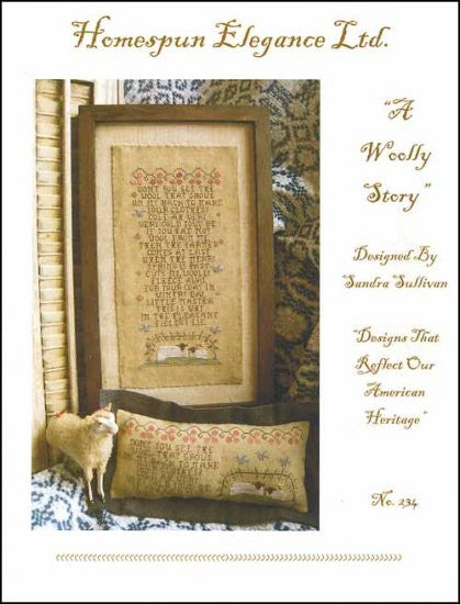 Woolly Story ~ Homespun Elegance Ltd