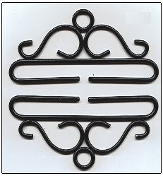 Bellpull ~ Black Wrought Iron