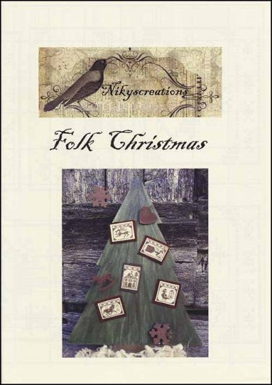 Folk Christmas Ornaments