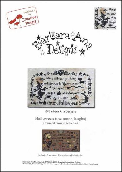 Halloween (The Moon Laughs) ~ Barbara Ana Designs
