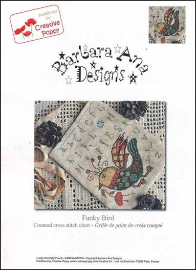 Funky Bird ~ Barbara Ana Designs