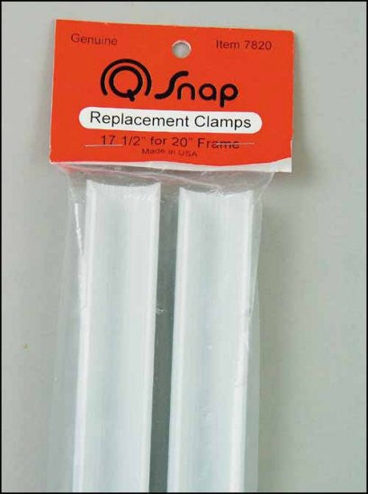 "Q-SNAP. 17 1/2"" CLAMPS PAIR FOR 20"" EXTENSION FRAME"