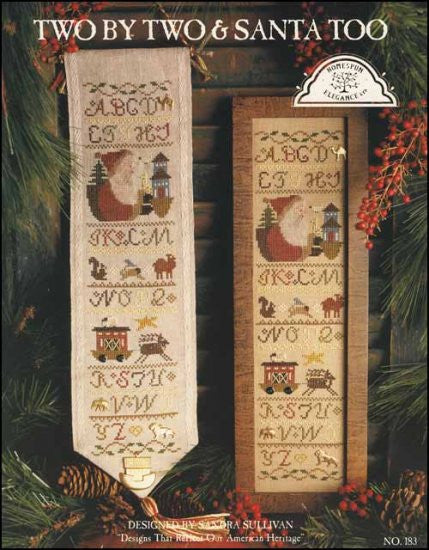 Two By Two & Santa Too ~ Homespun Elegance Ltd