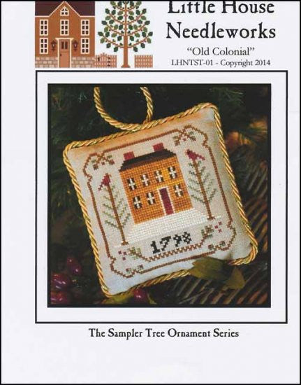 Sampler Tree Ornament: Old Colonial
