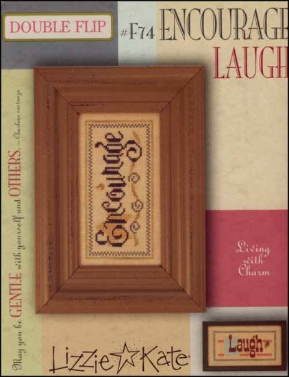 Double Flip: Encourage / Laugh ~ Lizzie Kate