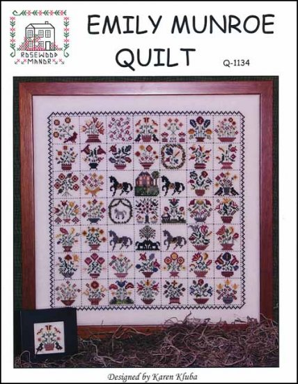 Emily Monroe Quilt ~ Rosewood Manor
