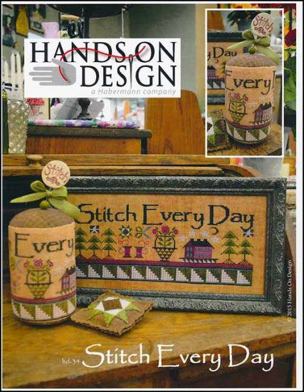 Stitch Every Day ~  Hands On Design
