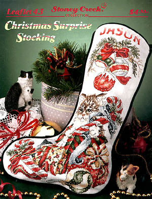 Christmas Surprise Stocking ~ Stoney Creek Collection