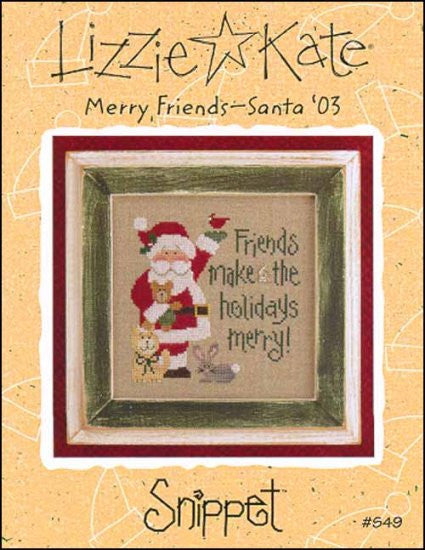 Snippet Santa '03: Merry Friends