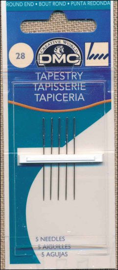 DMC TAPESTRY NEEDLES. SIZE 28