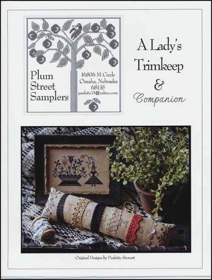 A Lady's Trimkeep & Companion ~ Plum Street Samplers