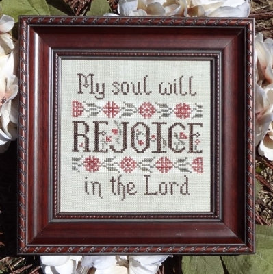 My Soul Will Rejoice - Psalm 35:9 ~ My Big Toe
