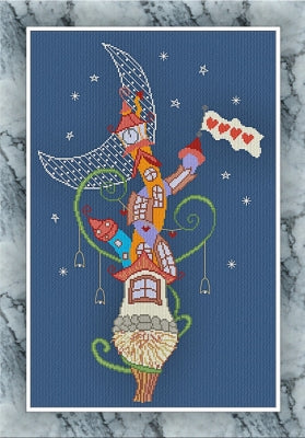 Midnight Tower ~ Alessandra Adelaide Needleworks