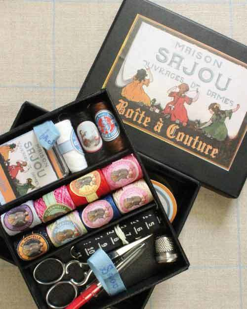 Deluxe Sewing Set ~ SEWING BOXES