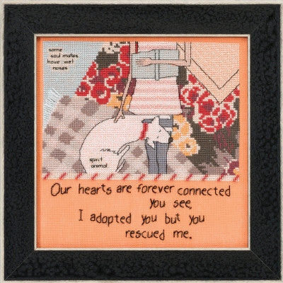 You Rescued Me (Curly Girl Design) - Mill Hill Kit CG30-1614