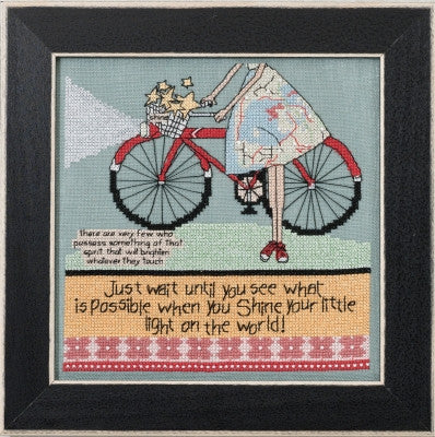 Let Your Light Shine Curly Girl Design - Mill Hill Kit CG30-1612