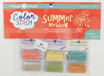 Summer Meadow Bead Pack Color Stitch ~ Mill Hill Beads