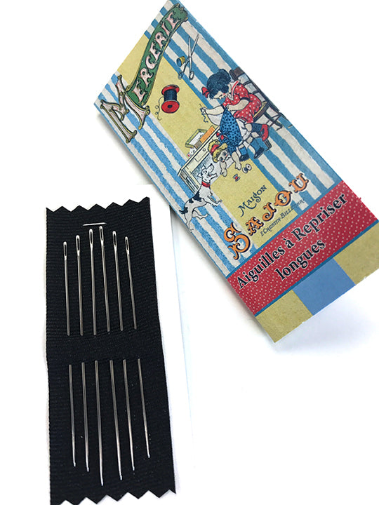 Long Darning Needles 3/9 ~ SAJOU