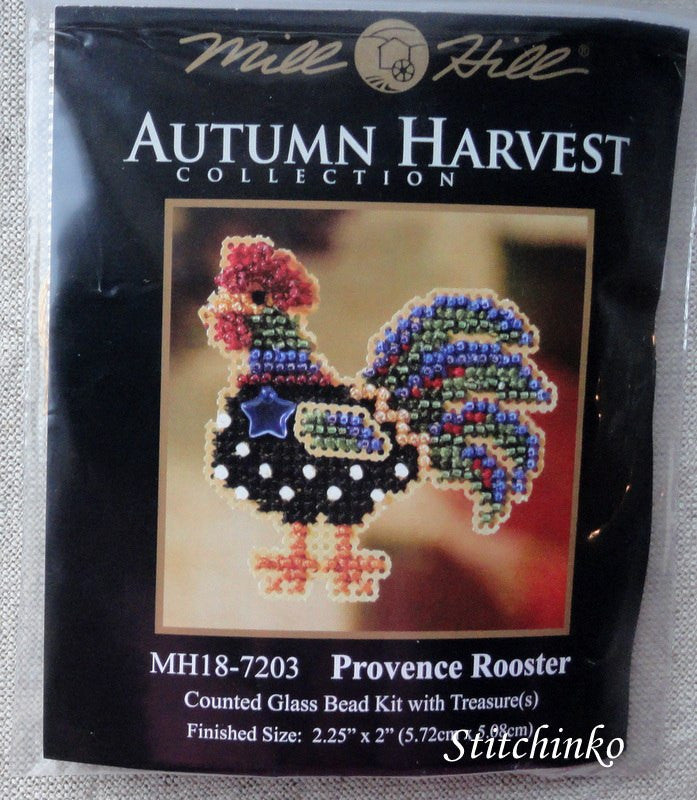 Provence Rooster - Mill Hill Kit MH18-7203